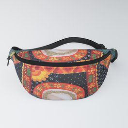 Frida, queen of Hearts Fanny Pack