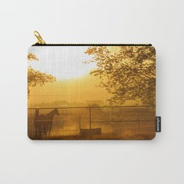 Morning In Canutillo Carry-All Pouch