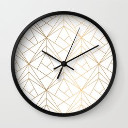 Polygonal Pattern Wall Clock