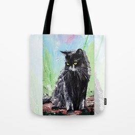 My little cat - kitty - animal - by LiliFlore Tote Bag