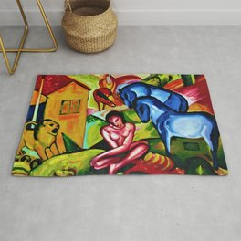The Dream by Franz Marc Rug