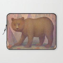 Brown Bear Laptop Sleeve
