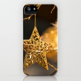 Christmas Star iPhone Case