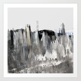 Tokyo in the Ice Age no. 14 Art Print