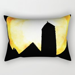 Sunday Morning Church Rectangular Pillow
