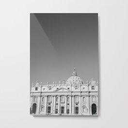 St Peter's Basilica Rome Metal Print