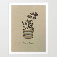Time to Blossom Art Print