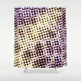 visual illusion No. 1 Shower Curtain