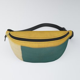 Yellow White Petroleum Fanny Pack