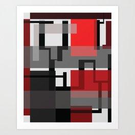 Transparencias Art Print