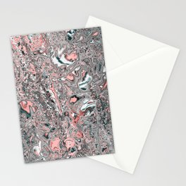 liquid Abstract 14B Stationery Cards