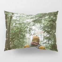 Forest Hiking Trail Adventure Pillow Sham