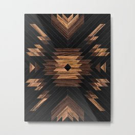 Urban Tribal Pattern No.7 - Aztec - Wood Metal Print