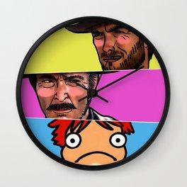 The Good, The Bad & The Ghibli Wall Clock