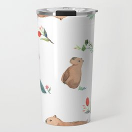 Capybara Travel Mug