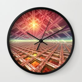 Space Portal To The Stars Wall Clock