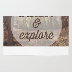 Wander and Explore Rug
