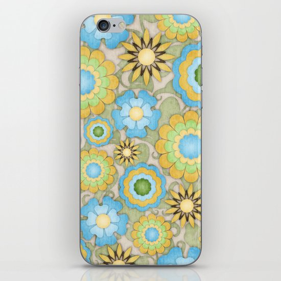 English Country Floral iPhone & iPod Skin