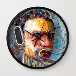 Digital Hermit Wall Clock