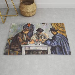 Paul Cezanne - The Card Players Rug