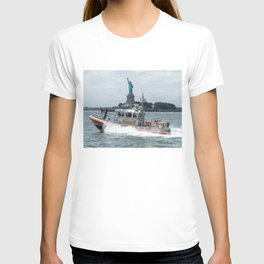 Coast Guard and Liberty T-shirt