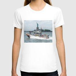 Coast Guard and Liberty T-shirt