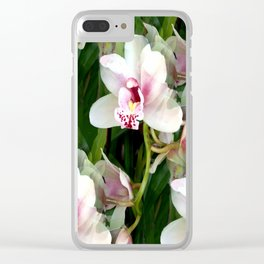 The Gift of an Orchid Clear iPhone Case
