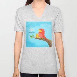 Be Kind to One Another! Unisex V-Neck