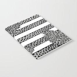 Stripes & Flowers Notebook