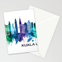 Kuala Lumpur Malaysia Skyline Stationery Cards