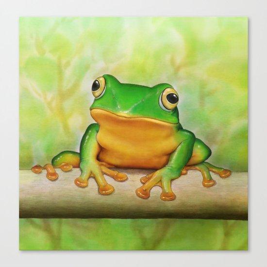 Taipei TreeFrog Canvas Print
