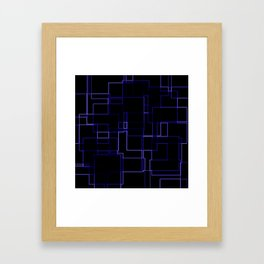 Neon is the Future Framed Art Print