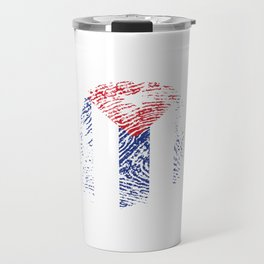 It's In My Dna Cuba Vintage Cuban Flag Gift Travel Mug