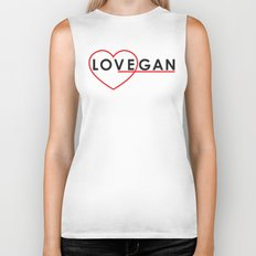 LOVEGAN (Love Vegan) Biker Tank