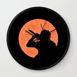 La Flame Wall Clock