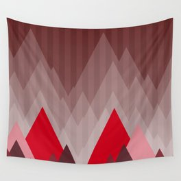 Triangular Mountain Range Wall Tapestry