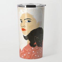 Pussy Cat Travel Mug