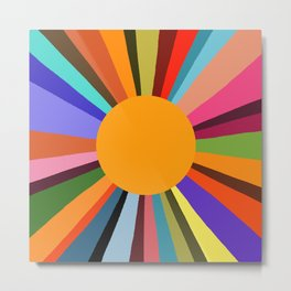 technicolor dream 003 Metal Print