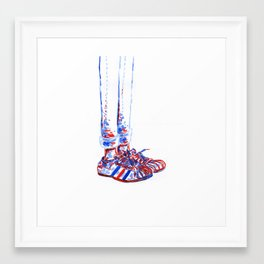 Shoes2 Framed Art Print