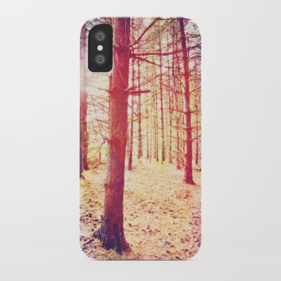 Fantasy in the Pines iPhone Case