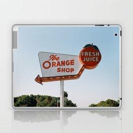 The Orange Shop Laptop & iPad Skin