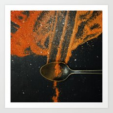 Spoonful of spice Art Print
