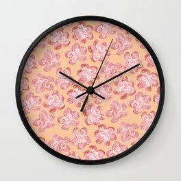 Wallflower - Coralette Wall Clock