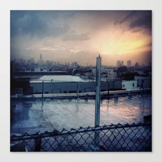 Brooklyn Rooftop Canvas Print