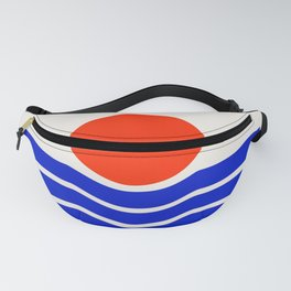 Going down-modern abstract Fanny Pack