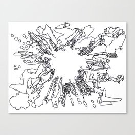 BOOM Ink3 Canvas Print