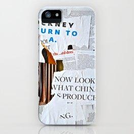 Now Look iPhone Case