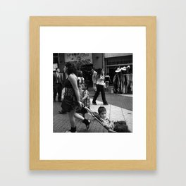 Another Chilean Kid Framed Art Print