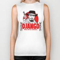 django Biker Tanks featuring Django logo by Buby87