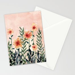 Peachy Fields Stationery Cards